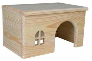 Другой хомячий домик из дерева